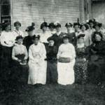 The women's Alpha Class in 1912